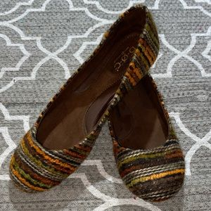 b.o.c. Yarn Stripe Ballet Flats